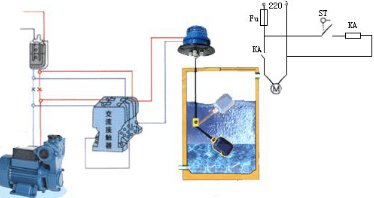浮球液位开关接线原理图图片