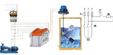 浮球液位开关接线原理图